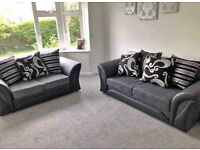 BRAND NEW SHANNON CORNER SOFAS AVAILABLE IN 3+2 SOFA SET---CASH ON DELVERY