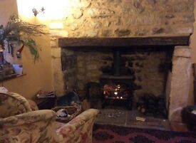 Smi cottage on the foot of the cheese roller hill ,lovely furniture in the cottage