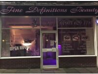 SALON SPACE TO RENT OR SHARE!! GREAT LOCATION IN WORTHING CALL 01903368343