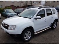 Dacia Duster 12 month m.o.t Laureate model *low milage* 2014 ***PRICE DROP ***
