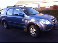 Great 4x4 super reliable- Honda CRV 2L petrol, clean in and out+tow bar, service history 100k