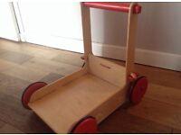 Moover wooden walker natural