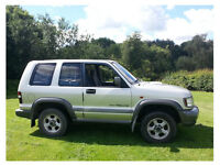 Isuzu Trooper 3.0 TD SWB Manual New MOT PX Swap Large Motocycle or Trike