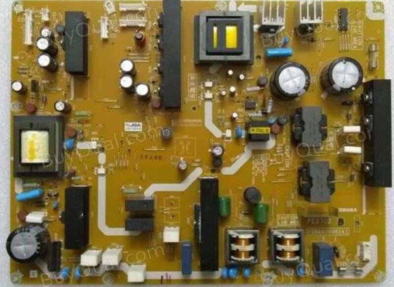 Toshiba 52xv645u 46xv645u + 55 Inch Pe0702a V28a000962a1 Power Repair + Upgrade!