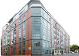 Studio flat in The Habitat, Nottingham, NG1