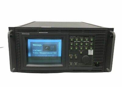 Tektronix Vm700t Video Measurement Set Options 01 11 1s 40 48 Need Hw