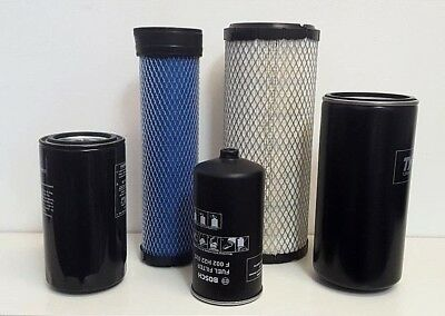Mahindra Tractor Economy Pack Of 5 Filters -0455.0456.8803.8618.12305152100