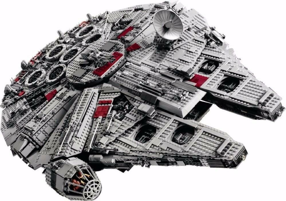 Ucs Star Wars Millenium Falcon Lepin Construction Set Lego 10179