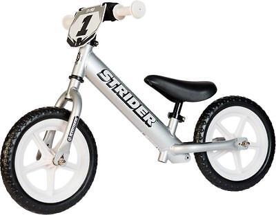 Strider 12 pro Niño Balance Bicicletas: Plata, usado segunda mano  Embacar hacia Spain