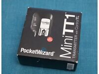 Pocket Wizard Canon Flex TT5 and Mini TT1