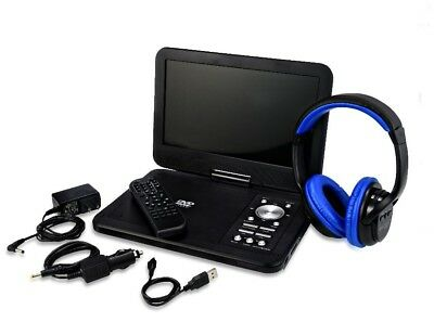 "Onn ONA17AV048 10"" Portable DVD Kit w/ Bluetooth Headphones"