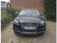 Audi Q7 Reg 2008 SE TDI QUATTRO A BLACK Injector problem