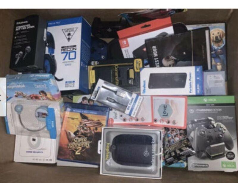 Amazon Wholesale Lot 30 Individual Items, Electronics, Toys, General Merchandise