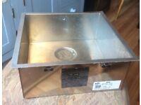 Blanco elegant kitchen sink + fittings