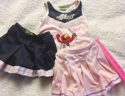 3T Halloween, toddler girls, sesame,  3 piece, cheerleader - Girls Toddler Costumes