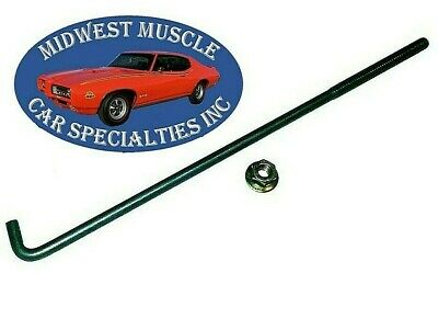 52-72 Chrysler Dodge 1/4-20 Battery Holder Clamp Tray Hold Down J Bolt & Nut PT