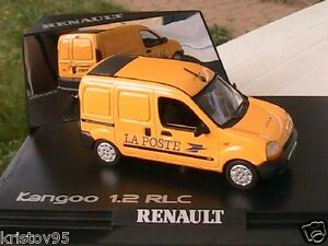 renault kangoo 1 2 rlc fourgon tole la poste ptt norev 1 43 jaune yellow. Black Bedroom Furniture Sets. Home Design Ideas