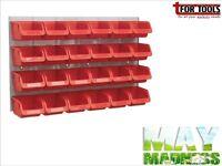 Sealey TPS130Bin & Panel Combination 24 Bins - Red