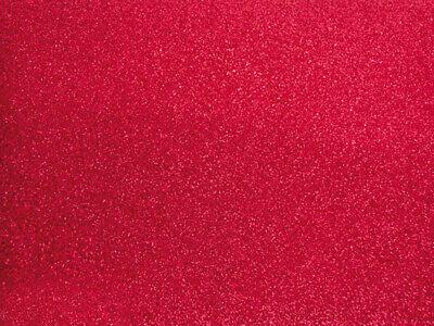 Fabric Offcut Glittery Red 66x45 CM - Ki-Sign