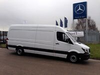 Vans with drivers hire Glasgow