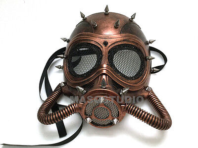 Steampunk Halloween Masquerade Ball Party Mask Burning Man Cosplay Dress up Prom ()