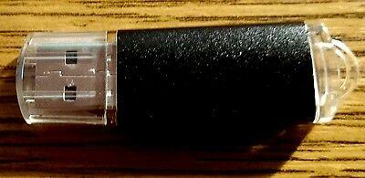 USB Stick 2.0 Speicherstick Flash 128MB, Schwarz,Leuchtet, Neu, Billig hier !!! ()