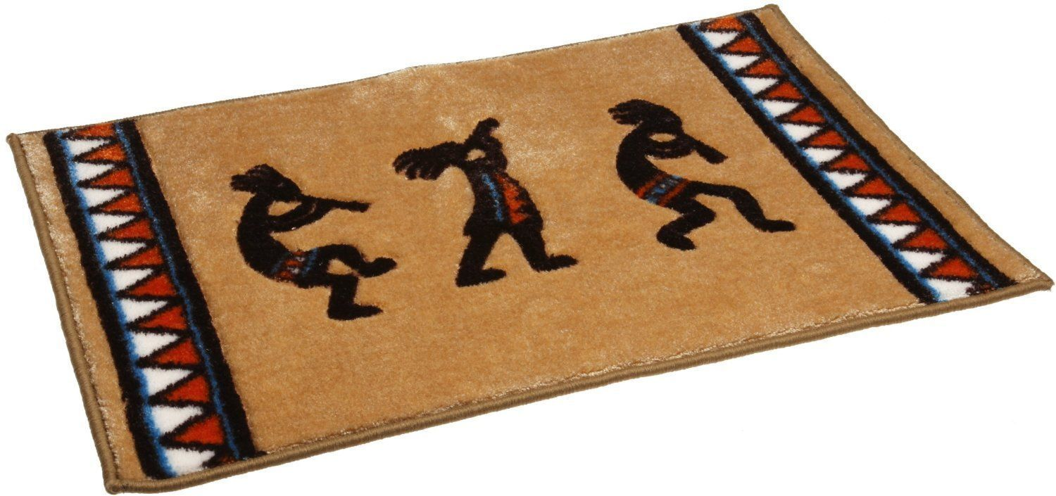 Avanti Linens Kokopelli Tufted Bath Rug 20 inch by 30 inch,