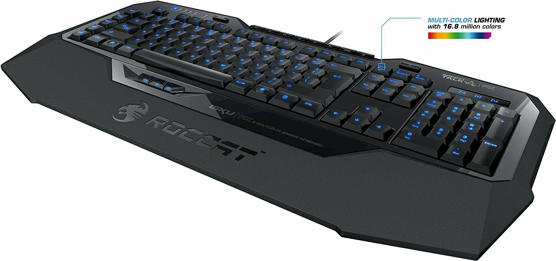 Roccat Isku FX Multicolor Gaming Tastatur Keyboard US LAYOUT 01-04-07-9016