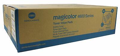 Original Konica Minolta Toner Value Kit (A0DKJ51) cyan magenta gelb - Original Gelb Toner Kit