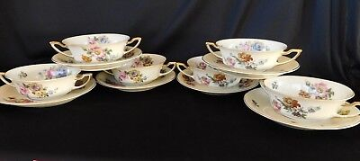 Rosenthal Continental Gardenia CREAM SOUP BOWL or SAUCER you pick