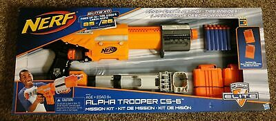 New Nerf N-Strike Elite Alpha Trooper CS-6 Mission Kit