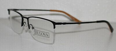 BULOVA BERLIN BLACK New Optical Eyeglass Frame For (Berlin Optical)
