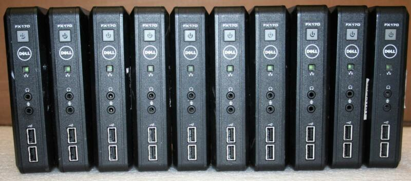 LOT 10 Dell OptiPlex FX170 Intel Atom 1.6GHz 1GB 2GB D05U002 WES OS Thin Client