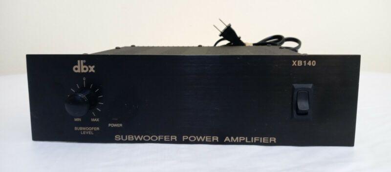DBX XB140 Subwoofer Power Amplifier