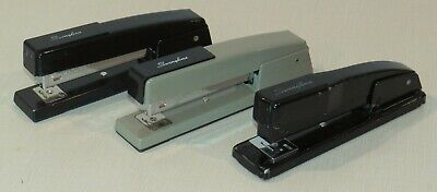 Lot Of 3 Vintage Swingline Staplers - All Work Well