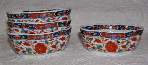 Set of 4 Vintage Toyo Japan Amari Asian Individual Nut/Candy Bowls Dishes