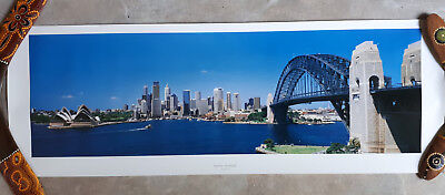 100x35cm Poster Sydney Australien Hafen Oper Harbour Bridge (Sydney Harbour Bridge Poster)