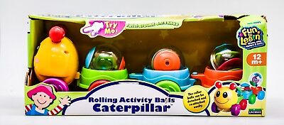 Rolling Activity Balls Caterpillar Toys For Toddlers Baby Kids Educational Fun](Balls For Toddlers)