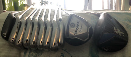 Call away Xr driver and irons for sale