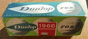 Dunlop 1966 for L.T.A.OFFICIAL TENNIS BALL SCATOLA CON 3 PALLINE TENNIS - Italia - Dunlop 1966 for L.T.A.OFFICIAL TENNIS BALL SCATOLA CON 3 PALLINE TENNIS - Italia