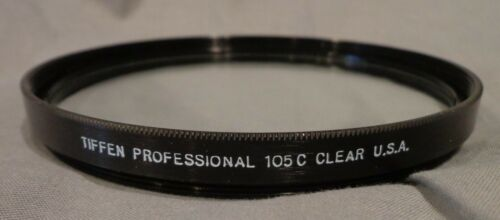Tiffen Professional 105C 105mm Clear Filter with protective pouch
