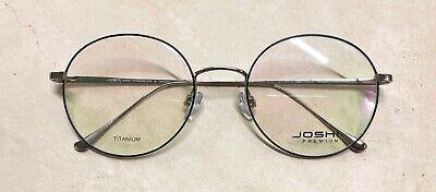 Joshi premium 7847 col.1 Titanium/Brille/Eyeglasses/Frame/Lunettes; Front 142 mm