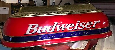 Antique Budweiser Pool Table - Antique Pool Table Lights