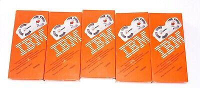 New Lot Of 5 Ibm Selectric Ii Typewriter High Yield Film Ribbon Black 1299095