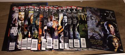 X-Files Comic books and magazines.  Crestmead Logan Area Preview