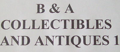 B+A COLLECTIBLES AND ANTIQUES 1