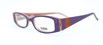 GUESS GU9011 45/16 New PURPLE Authentic GIRLS CHILDREN Designer EYEGLASSES Frame
