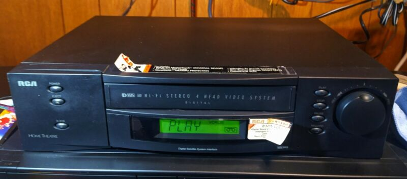 RCA VR911HF D-VHS VCR with Firewire Port MADE IN JAPAN