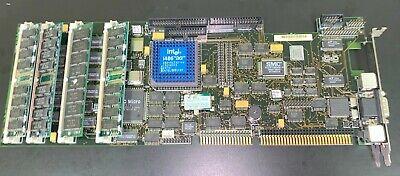 Mat737 Isa Single Board Computer With Intel 486dx266mhz 16mb Ram Microbusuk