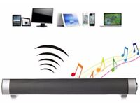 soundbar Bluetooth speaker can be linked to your phone laptop tablet and other devices! handsfree
